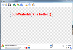 The old waterMark V2 profile editor