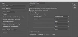 Schritt 10: Zu schützende Dateien angeben und Wasserzeichen erstellen!