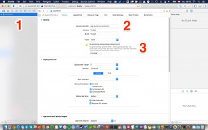 Setting the ScummVM project settings in Xcode