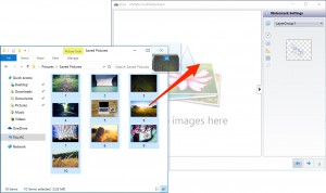 Dragging photos to protect from Explorer to bulkWaterMark