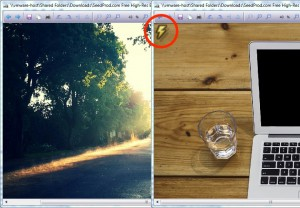 Using expressions to render a conditional image watermark